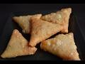 Triangle Onion Samosa -  Indian Snacks Recipe (in Tamil)