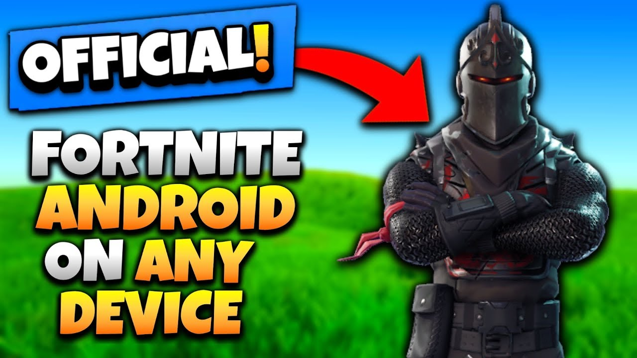 DOWNLOAD FORTNITE ON ANY DEVICE *WITHOUT INVITE ...