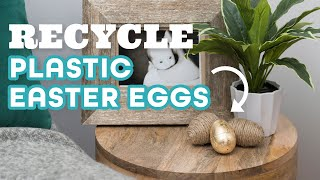 Upcycle Plastic Easter Eggs Into Home Decor - HGTV Handmade