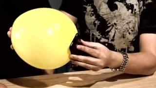 魔術教學--手機入氣球