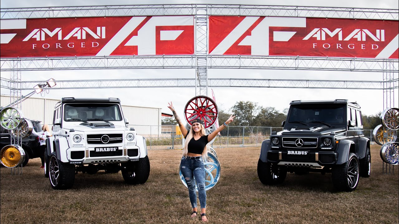 Elite Super Bowl Car & Truck Show 2021 - Tampa, Florida with Lacey Blair
