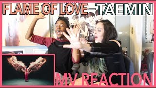 Gambar cover 'FLAME OF LOVE' by TAEMIN | MV REACTION | KPJAW