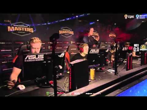 Dreamhack Malmö 2016 - Mousesports vs. GODSENT (Mapa 1 - Cache) - Narração PT-BR