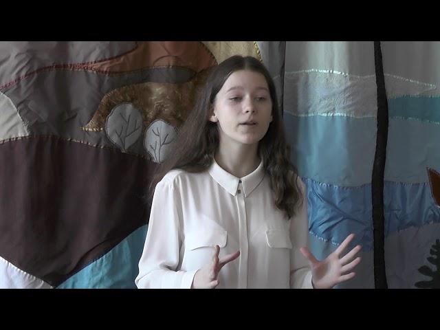 Изображение предпросмотра прочтения – АнастасияЩепилова читает произведение «Голоса весны» А.Я.Яшина