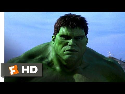 Hulk (2003) - Hulk Breaks Out Scene (7/10) | Movieclips