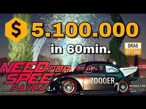 Need for Speed Payback - Heftiger Geld Glitch / Trick DRAG | Version 1.08