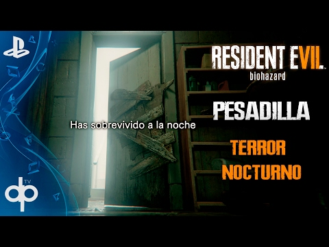 RESIDENT EVIL 7 Modo Pesadilla - Dificultad (Terror Nocturno)   Guia Español Gameplay PS4