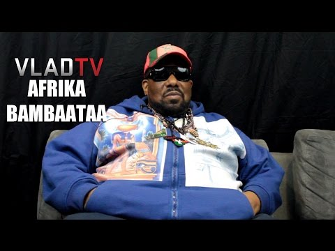 Afrika Bambaataa Talks Violence in Hip-Hop & Black Spades Days