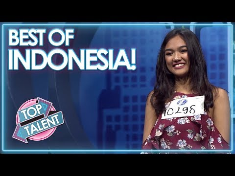 INDONESIA'S MOST POPULAR – Got Talent, X Factor and Idols! | Top Talent