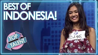 INDONESIA'S MOST POPULAR - Got Talent, X Factor and Idols! | Top Talent
