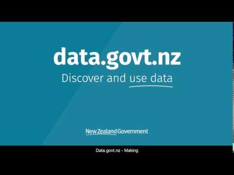 Adding datasets to data.govt.nz