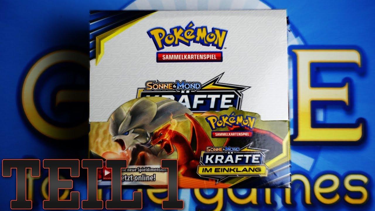 Kräfte im Einklang Vorverkauf: Pokemon Sonne /& Mond 10 Deutsch 5 Booster