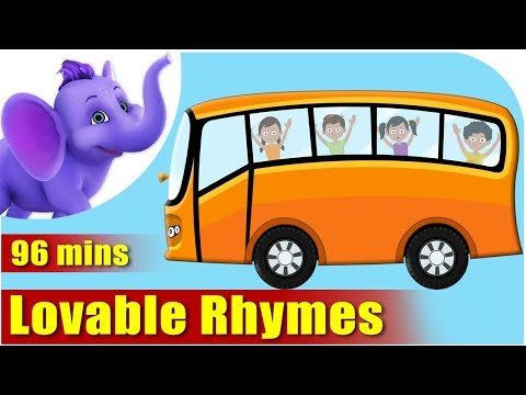 Wheels On The Bus and other Nursery Rhymes | 90 minutes Compilation By Appuseries