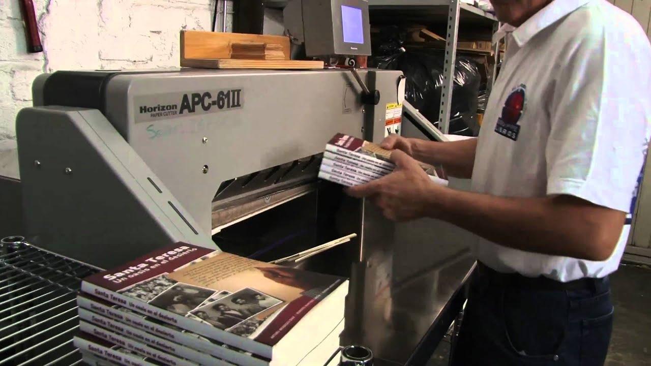 Impresión Digital en baja demanda para libros - YouTube