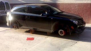 Arabanın Lastikleri Çalındı!!
