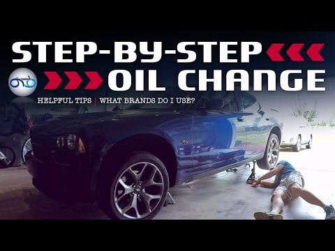 Dodge Charger R/T 5.7L HEMI Step-By-Step Oil Change & Helpful Hints