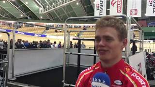 Niklas Larsen efter VM Semifinalen mod Storbritannien