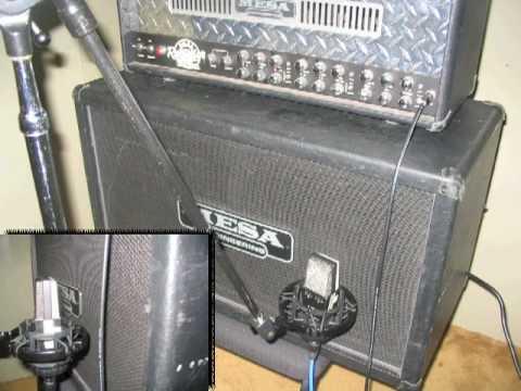 electric guitar amp microphone technique 1 youtube. Black Bedroom Furniture Sets. Home Design Ideas
