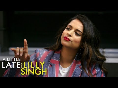 Lilly Singh Makes Her Late Night Debut With a Rap Cold Open and a Euphoria Makeover with Mindy Kaling