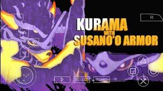 (NARUTO ULTIMATE NINJA IMPACT MOD) MOD TEXTURE AWAKEN MODE KURAMA WITH SUSANO'O