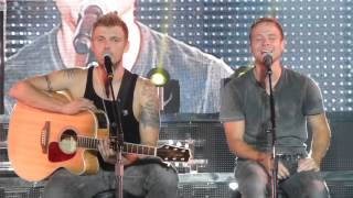 Backstreet Boys- Live in Tupelo-Back to your heart w/ Gary Baker