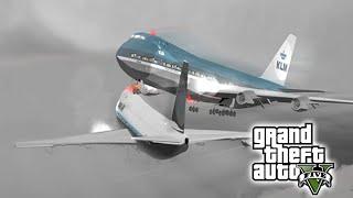 Accidentes Aéreos | Choques de Aviones mortales Brutales y Fatales | GTA V PC