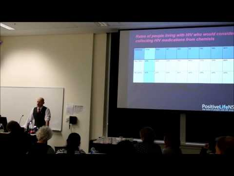 Presentation to Community Pharmacists at University of Sydney, 30 May 2015