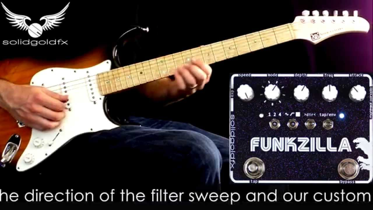 Solidgoldfx Funkzilla Tap Tempo Envelope Filter Youtube A Frequency Doubler Effect For Electric Guitar