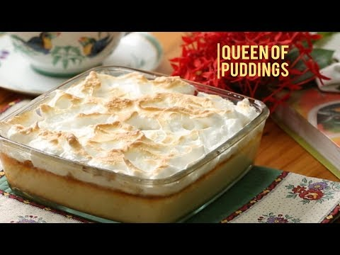 Queen Of Puddings | How To Make Delicious Bread Pudding | Easy Dessert Recipe