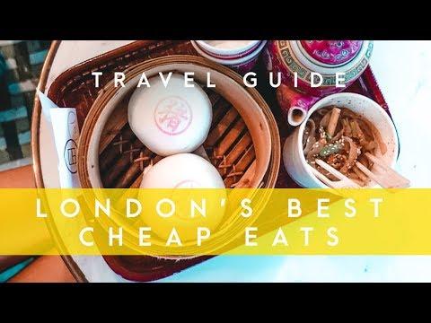 BEST 5 CHEAP EATS IN LONDON // London Travel Guide