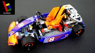THE BEST LEGO GO KART EVER!  Unbox/Build/Review