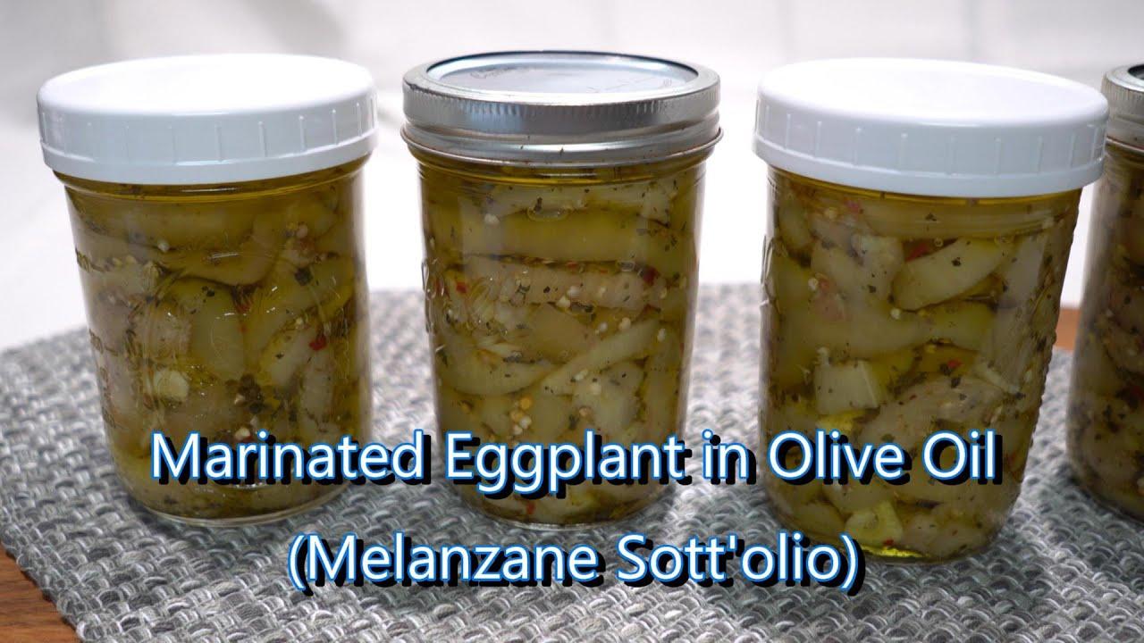 Italian Grandma Makes Marinated Eggplant (Melanzane Sott'olio)