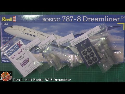 Revell 1/144th 787-8 Dreamliner review