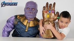 REAL Avengers Infinity Gauntlet From Thanos To CKN Toys