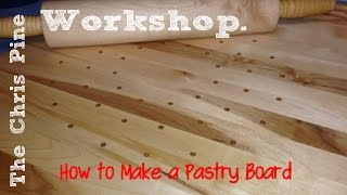 2015 Kitchen Utensil Challenge: How To Make A Pastry Board.