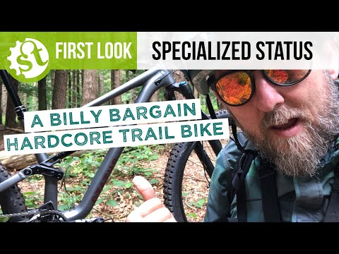 Specialized Status - All new, all mountain, bargain trail bike
