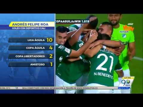 Sep 15 2017 Deportivo Cali empató con Medellín en el partido de ida de semifinal de Copa Águila
