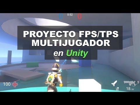 Proyecto FPS / TPS Multijugador En Unity💥🔫