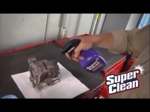Keep Your Engine Parts SuperClean