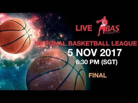 SAFSA  vs Singapore Xin Hua Sports | National Basketball League 2017 🏀  Final