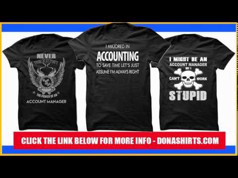 7f33c6c65 Accounting T-Shirt & Hoodie, Accounting T-Shirt & Gift - YouTube