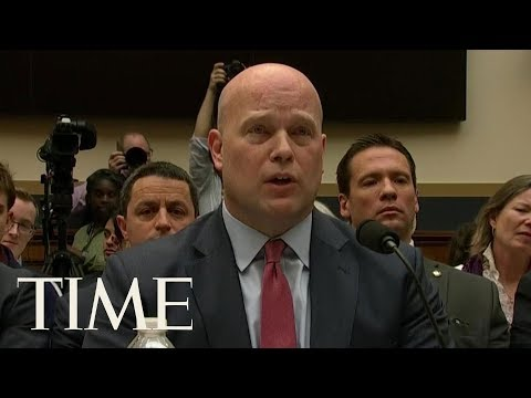 Acting AG Matthew Whitaker Denies He Talked To Trump About The Mueller Investigation | TIME