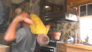 Copy of My dad and cousin fighting lol