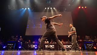 Co-thkoo(GUCCHON KEI)  vs Greenteck & NELSON BEST4 POPPIN' WDC 2018 FINAL World Dance Colosseum