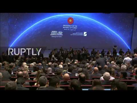 LIVE: World Energy Congress 2016 in Istanbul – Presidential