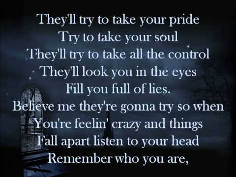 Three Days Grace - Unbreakable Heart Lyrics