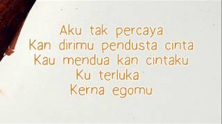 Wani - Pendusta Cinta  (feat. WARIS) Lirik HD