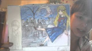 мои аниме рисунки 3