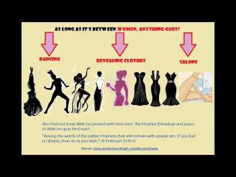 Between Women, Anything Goes? Salons/Dancing/Awrah-Sheikh Assim,  al-Albaani, ibn al-'Uthaymeen