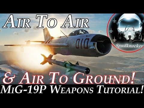DCS: MiG-19P Farmer-B | Weapons Tutorial & First Look!